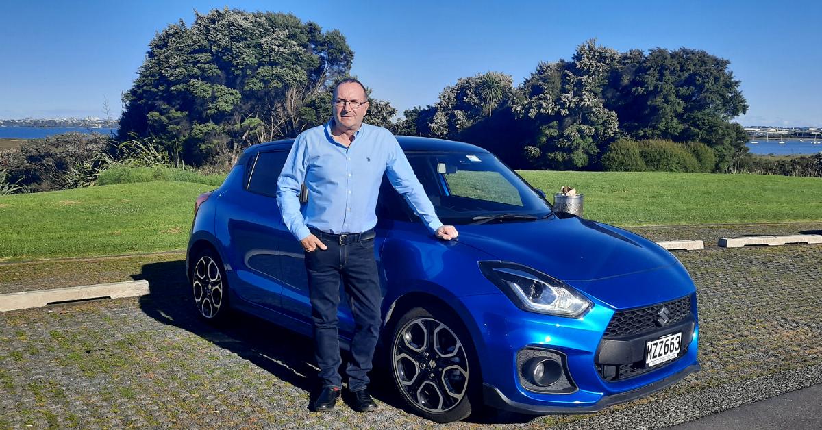 Suzuki NZ Swift Sport Testimonial: Julian Strangward