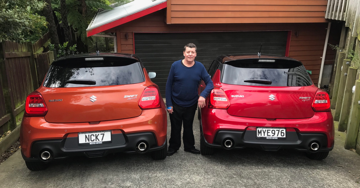 Suzuki NZ Swift Sport Testimonial: Susan & Kim Unsworth