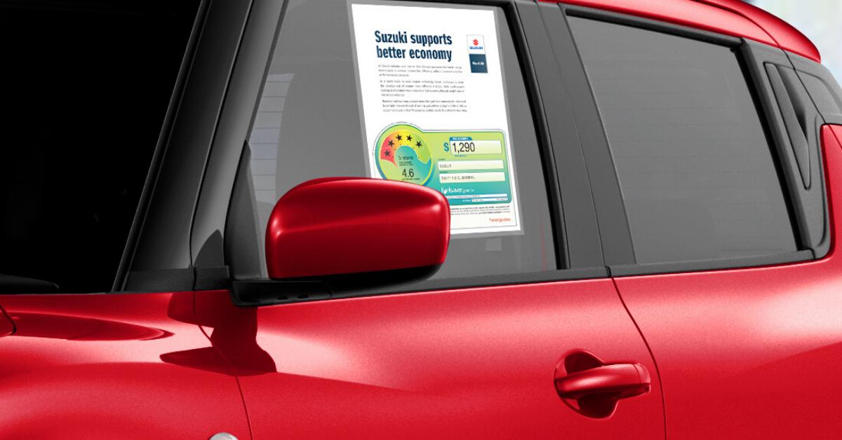 SUZ | Blog |Our Top 3 Most Fuel Efficient Cars at Suzuki